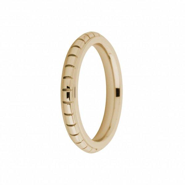 Melano Melano ring sarah engraved rosegoud FR10RG030