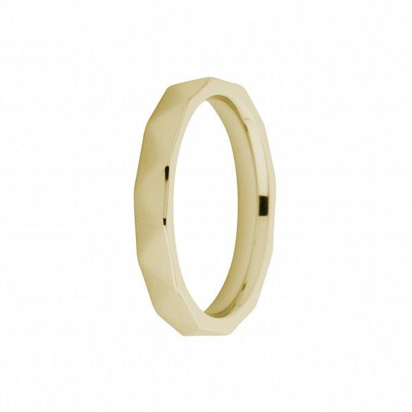 Melano Melano Ring sarah facettiert Gold FR12GD030