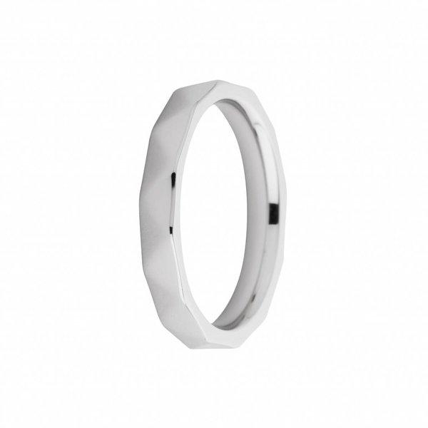 Melano Melano ring sarah facet zilver FR12SS030
