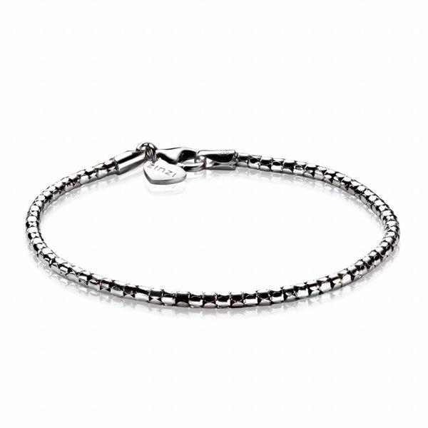 Zinzi Zinzi silver fantasy bracelet 19,5cm ZIA1129