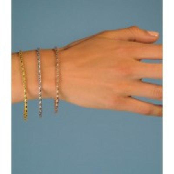 Zinzi Zinzi zilveren fantasie armband 19,5cm ZIA1129