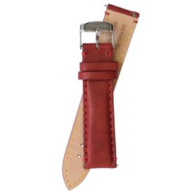 Fromanteel Fromanteel leather red watchband S-039