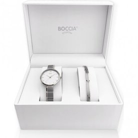 Boccia Boccia dames horloge set 3308-01
