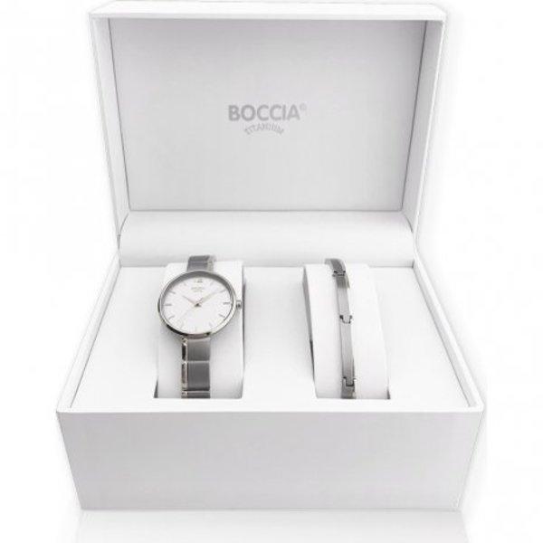 Boccia Boccia titanium horloge set voor dames 3308-01