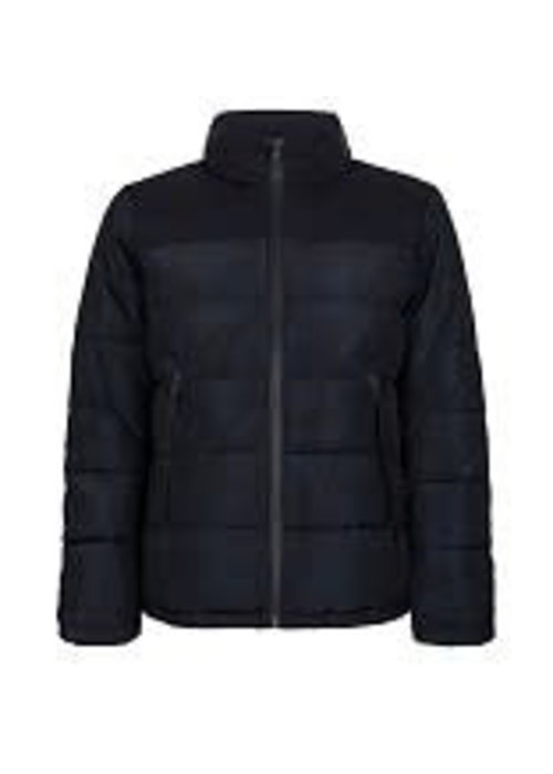 PURE WHITE PURE WHITE PADDED WINTERJACKET NAVY