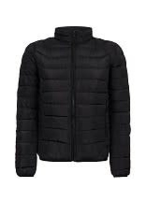 PURE WHITE PURE WHITE PADDED JACKET NAVY