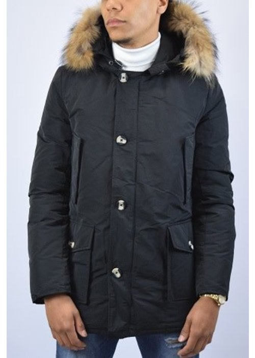 AIRFORCE CLASSIC METAL MEMORY PARKA Black (waterafstotende)