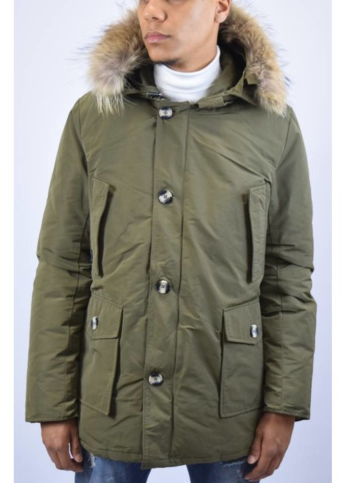 AIRFORCE CLASSIC METAL MEMORY PARKA (waterafstotend) Army Green