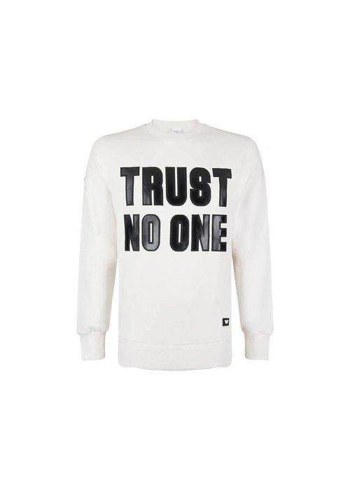 PURE WHITE PURE WHITE SWEATER TRUST NO ONE WHITE