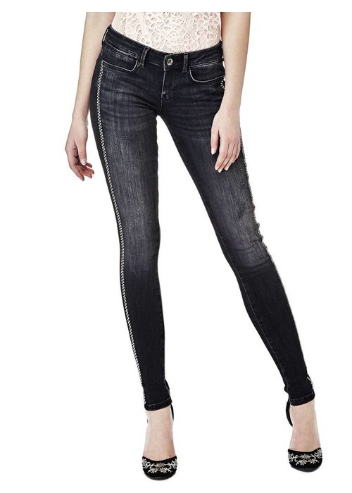 GUESS GUESS JEGGINGS WITH SIDE APPLIQUÉS