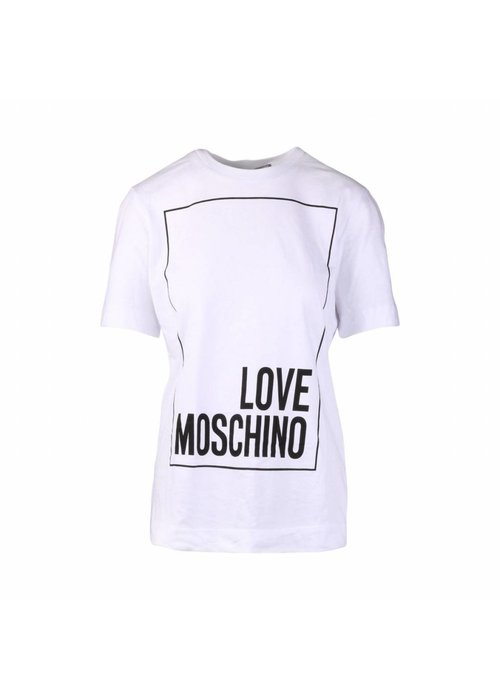 LOVE MOSCHINO LOVE MOSCHINO T-SHIRT  WHITE S