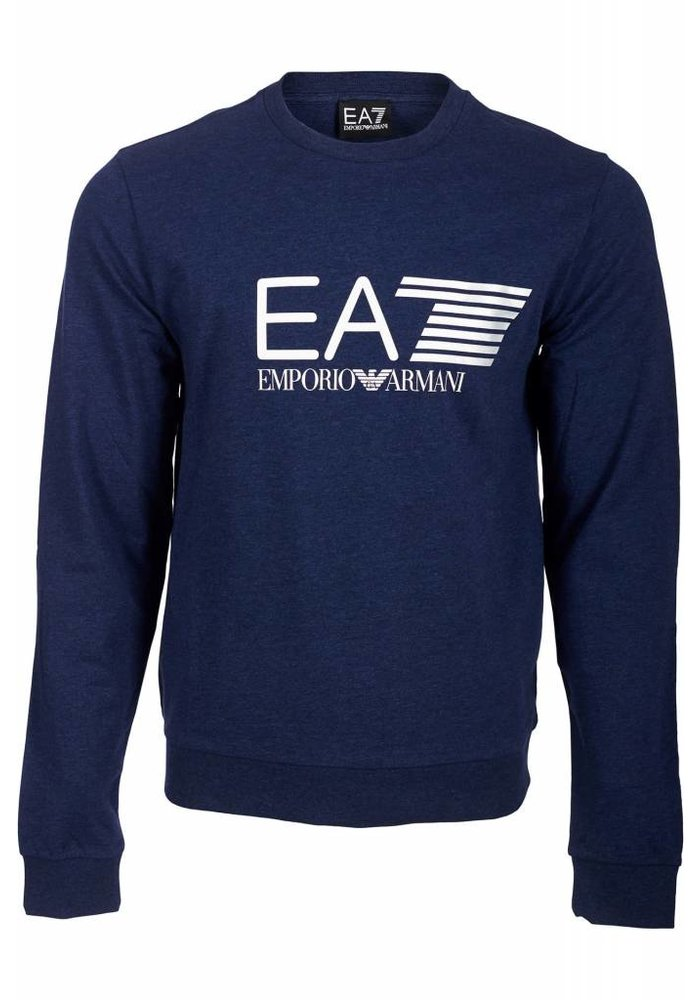 EA7 SWEATER FRONT LOGO