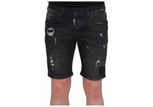 MY BRAND My Brand destroyed short jeans black