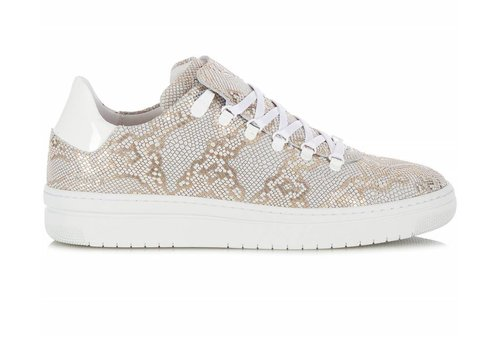 NUBIKK NUBIKK SNEAKERS WHITE GOLD