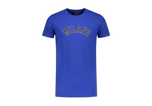 ANGEL&MACLEAN ANGEL&MACLEAN Blue Milano City T-shirt