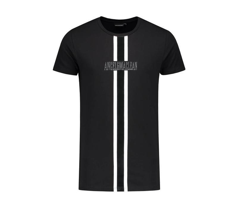 ANGEL&MACLEAN White Stripe T-shirt