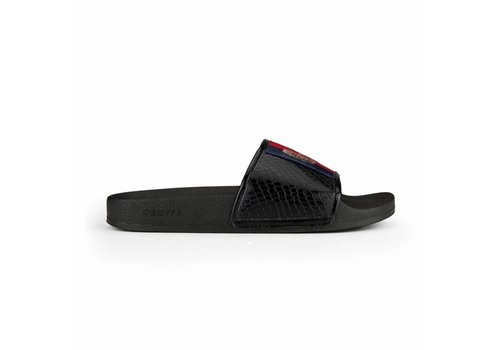 CRUYFF CRUYFF SLIPPERS RED/BLUE/BLACK