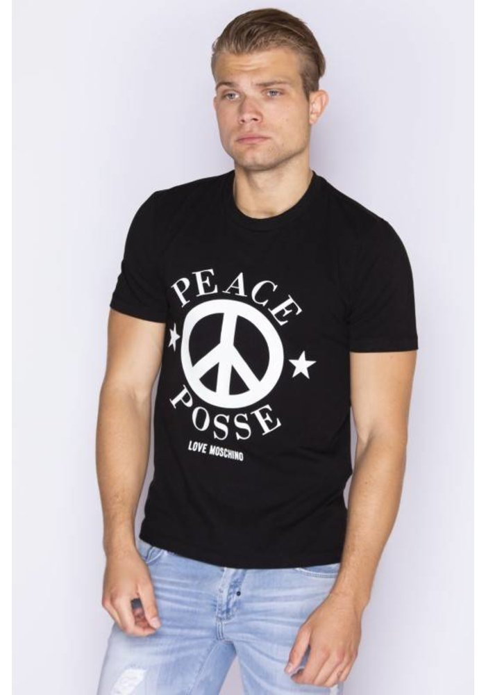 LOVE MOSCHINO PEACE T-SHIRTS