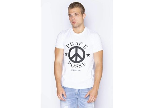 LOVE MOSCHINO LOVE MOSCHINO PEACE T-SHIRT