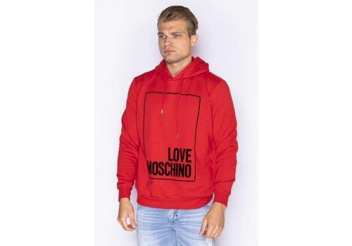 LOVE MOSCHINO LOVE MOSCHINO HOODIE-O81