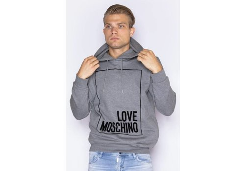 LOVE MOSCHINO LOVE MOSCHINO HOODIE-B922