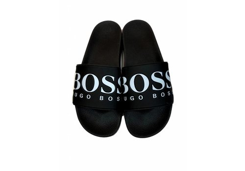 HUGO BOSS HUGO BOSS SLIPPERS blk