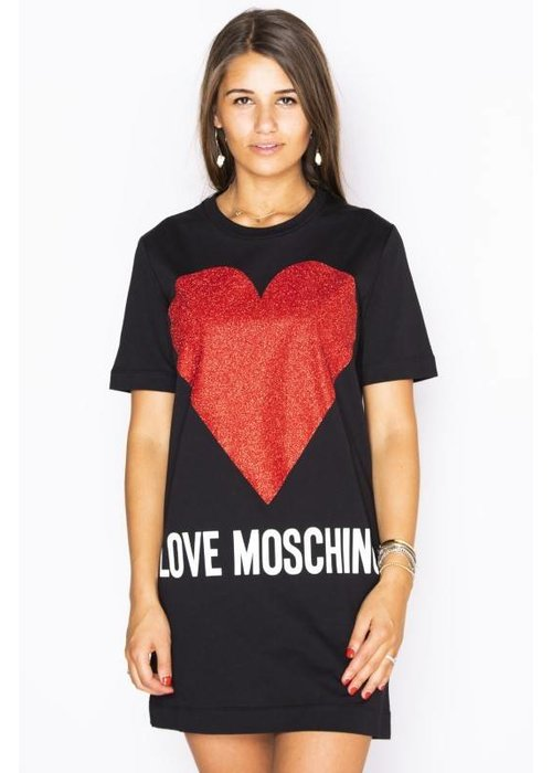 LOVE MOSCHINO LOVE MOSCHINO HEART DRESS