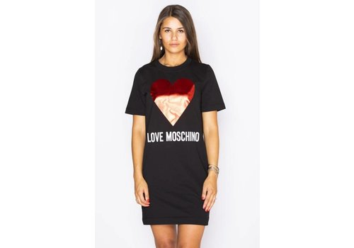 LOVE MOSCHINO LOVE MOSCHINO sweat dress heart