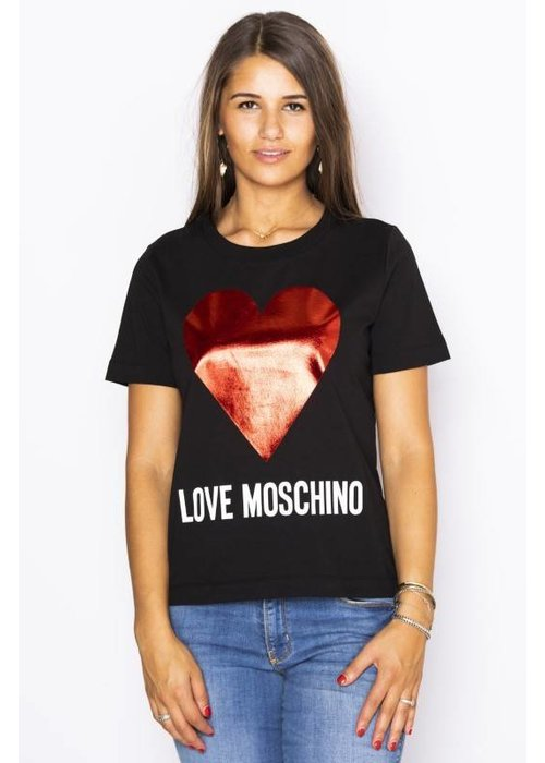LOVE MOSCHINO LOVE MOSCHINO Heart T-shirt