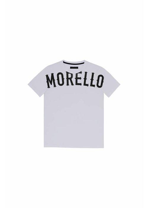 FRANKIE MORELLO FRANKIE MORELLO T-SHIRT CAICAI GRIGIO MELANGE