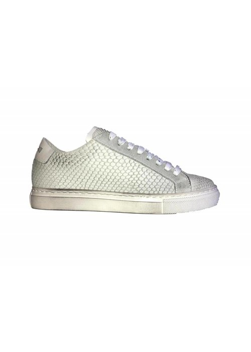 ANTONY MORATO ANTONY MORATO SNAKE LEATHER KIDS SNEAKERS