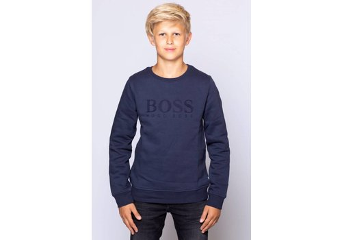 HUGO BOSS HUGO BOSS SWEATER LOGO CARGO
