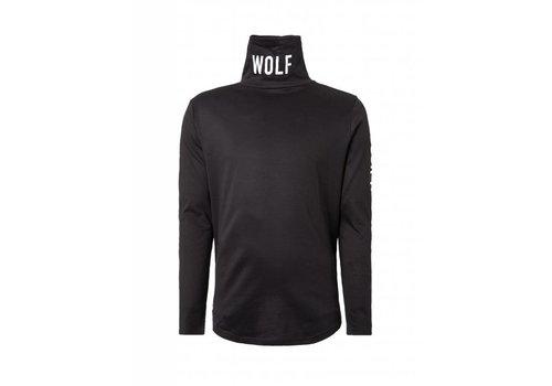 PURE WHITE PUREWHITE T SHIRT LANGE MOUW WOLF