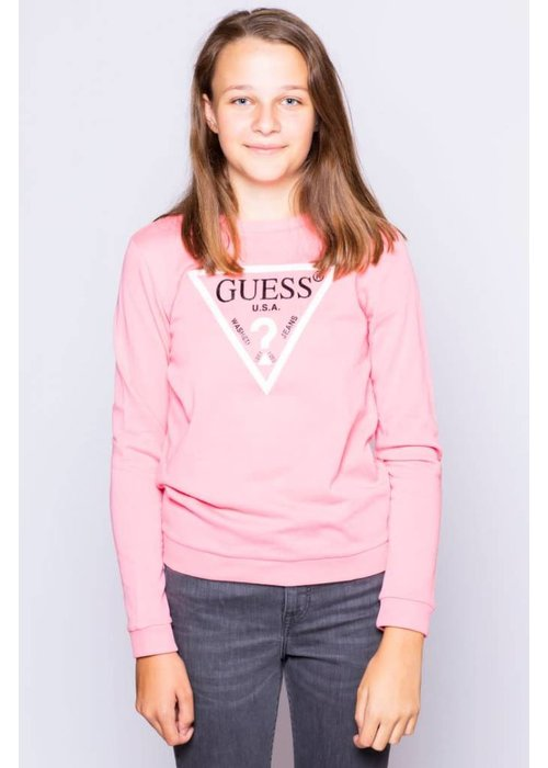 GUESS GUESS SWEATER GIRLS ROUGE/CAROUSEL PINK