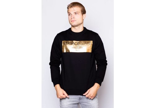 VERSACE JEANS VERSACE JEANS B7GSB7F7 GOLD SWEATER