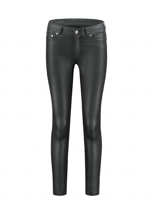NIKKIE NIKKIE BETTY COATED SKINNY JEANS