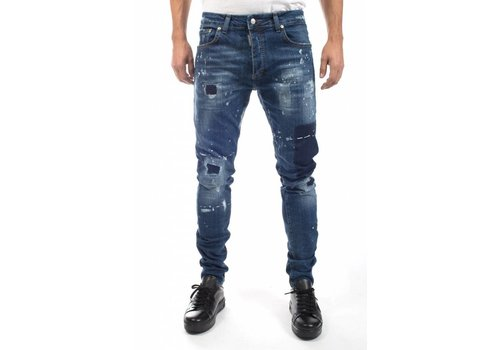 MY BRAND MY BRAND JACK 055 DESTROYED SQUARE JEANS