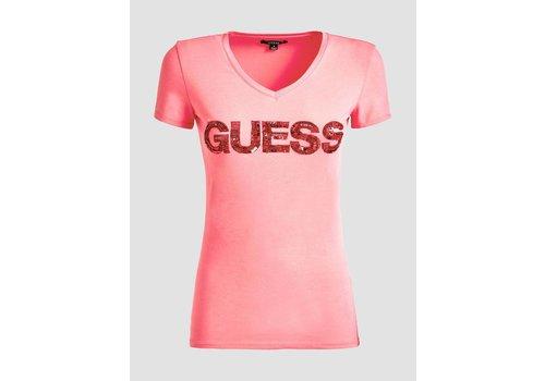 GUESS GUESS T SHIRT V GIPSY