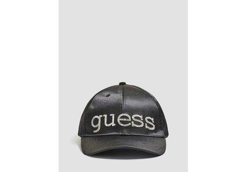 GUESS GUESS SATIN LOGO CAP