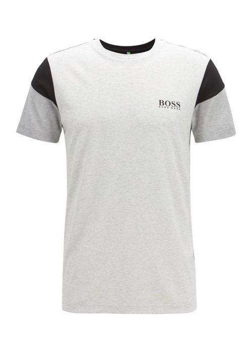 HUGO BOSS HUGO BOSS Slim-fit T-shirt van een vochtafvoerende katoenmix