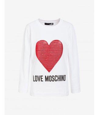 LOVE MOSCHINO LOVE MOSCHINO SWEATSHIRT ROOD HART A00\W6