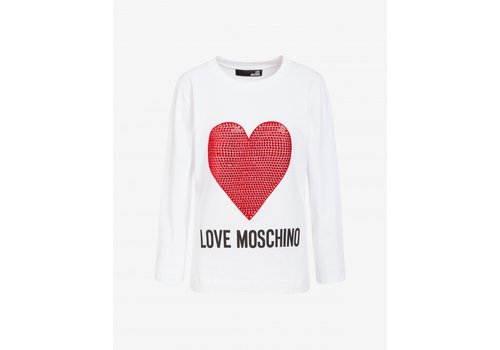 LOVE MOSCHINO LOVE MOSCHINO SWEATSHIRT ROOD HART A00\W6