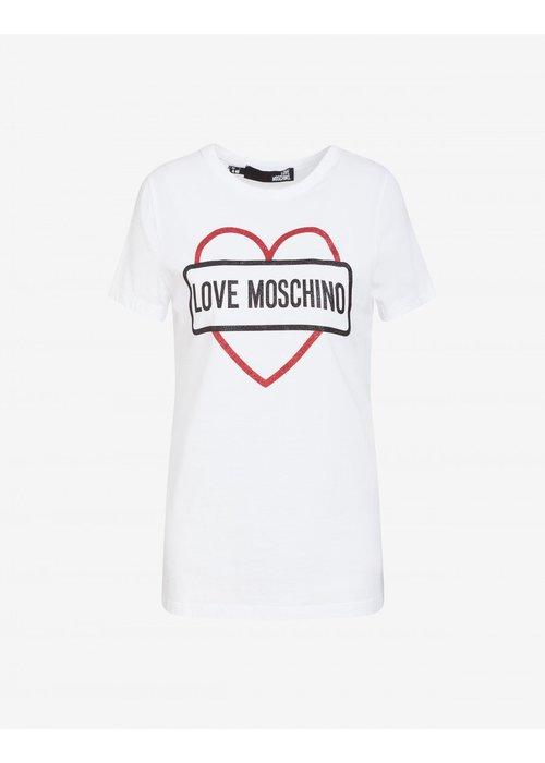 LOVE MOSCHINO LOVE MOSCHINO TSHIRT  A00\W4