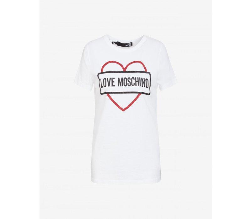 LOVE MOSCHINO TSHIRT  A00\W4