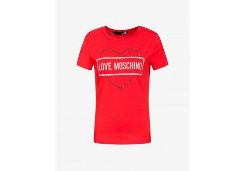LOVE MOSCHINO LOVE MOSCHINO TSHIRT ROOD 09\W4