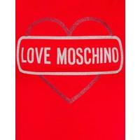 LOVE MOSCHINO TSHIRT ROOD 09\W4