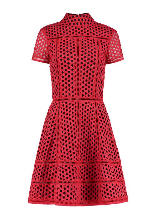 NIKKIE NIKKI DRESS RED RONA DRESS