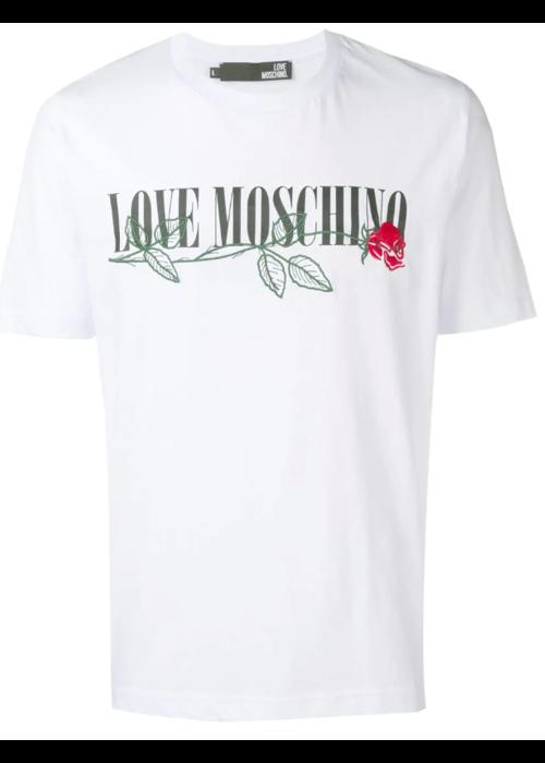 LOVE MOSCHINO LOVE MOSCHINO TSHIRT M3876 BLOEM