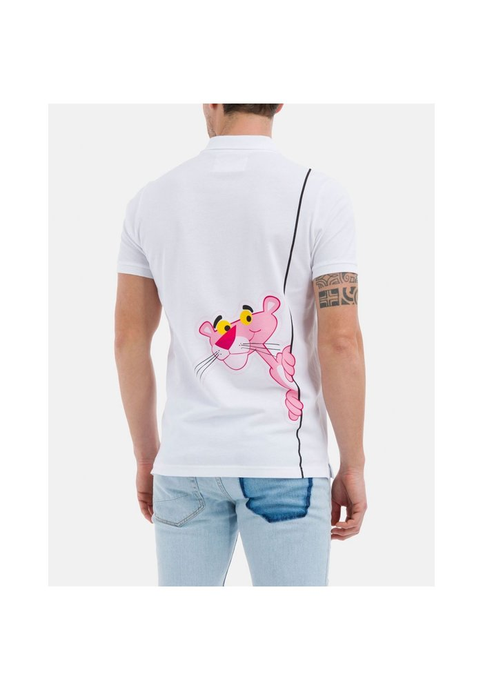 ICEBERG Polo shirt with Pink Panther design