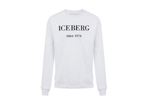 ICEBERG ICEBERG Sweatshirt with maxi-logo embroidery